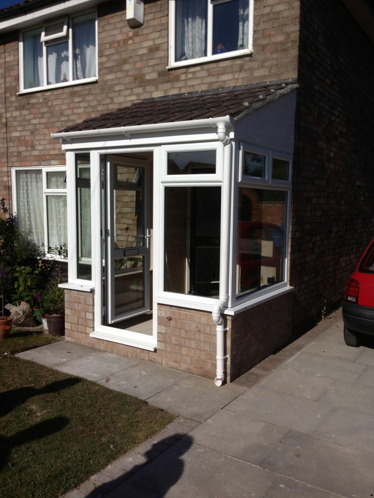 New Porch Fitted in Sankey