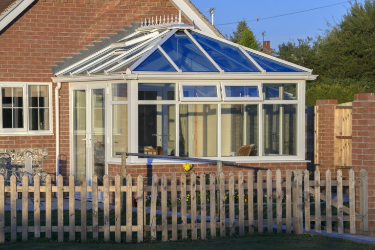 Large conservatory in Warrington